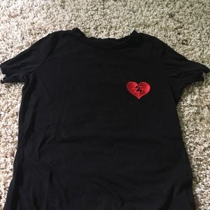 Broken Heart tee shirt